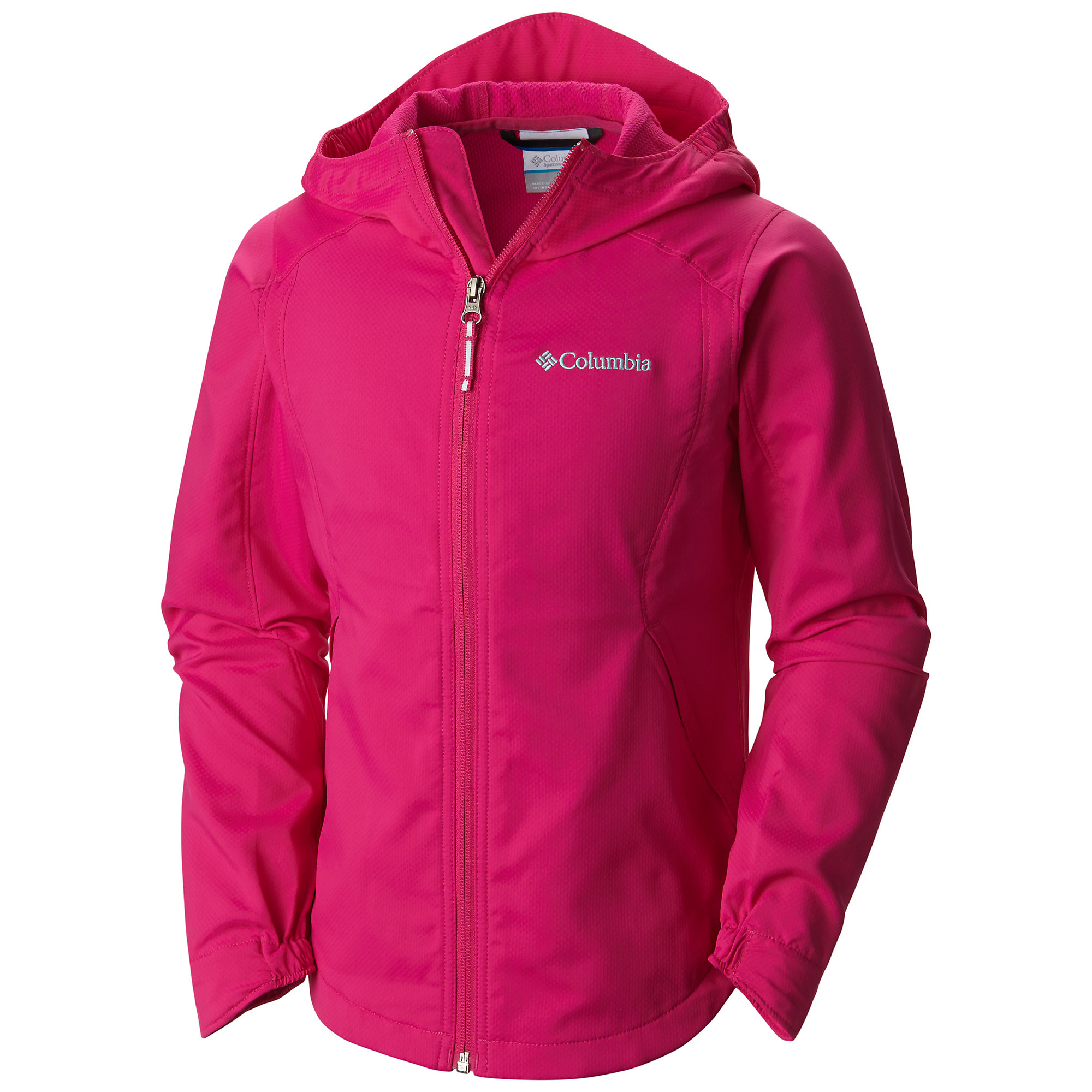 photo: Columbia Girls' Splash Flash II Hooded Softshell