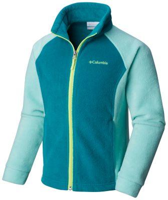 f8ac8a5fc953 Girls Benton Springs Zip Up Fleece Jacket
