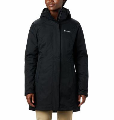 Women's Salcantay™ Long Interchange Jacket - Black - W451136Women's  Salcantay™ Long Interchange Jacket ...
