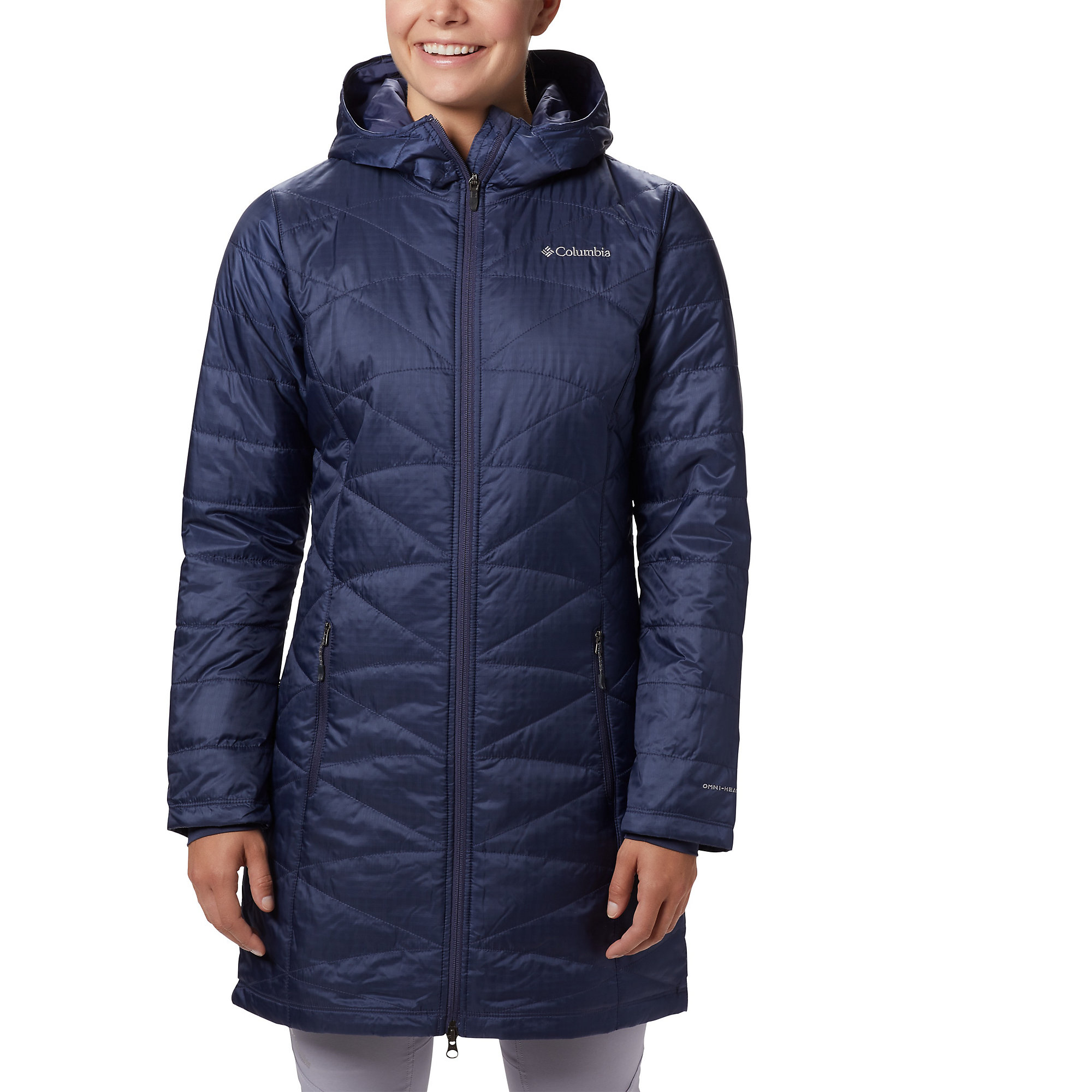 Columbia Mighty Lite Hooded Insulated Winter Jacket Coat