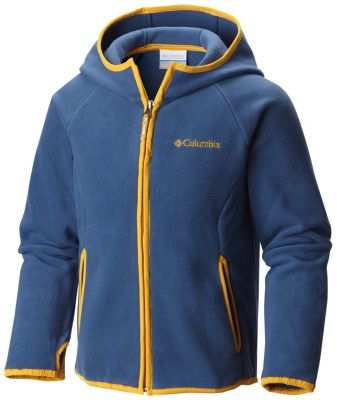 photo: Columbia Kids' Fast Trek Hoodie fleece jacket