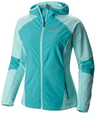 photo: Columbia Women's Sweet As Softshell Hoodie
