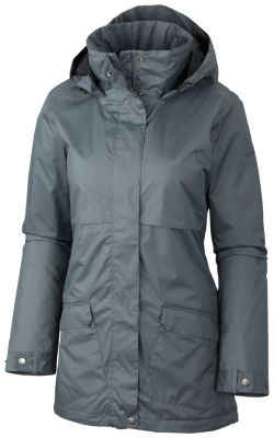 Women's Precipitation Nation™ Fleece Lined Rain Jacket – Plus Size