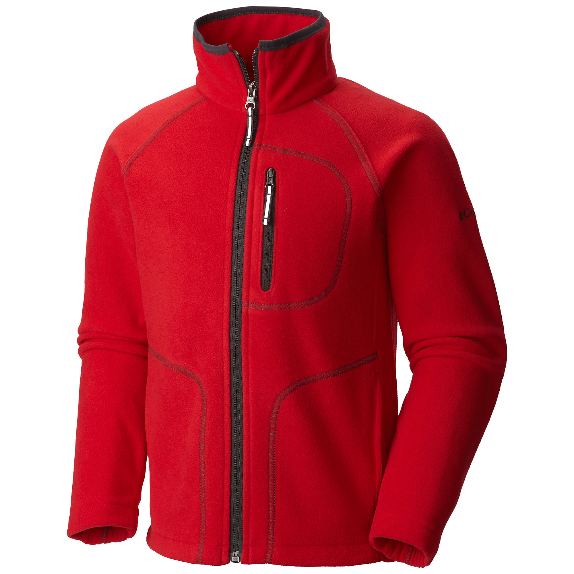 photo: Columbia Boys' Fast Trek II Full Zip Fleece