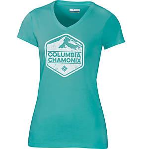 Chamonix Logo T-Shirt für Damen