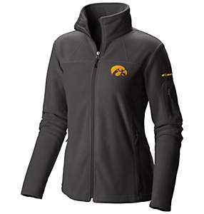 Women's Collegiate Give and Go™ Full Zip Fleece Jacket - Iowa