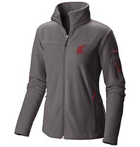 Women's Collegiate Give and Go™ Full Zip Fleece Jacket - Washington State