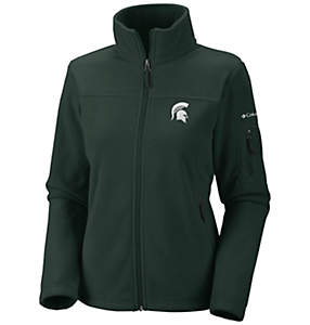 Women's Collegiate Give and Go™ Full Zip Fleece Jacket - Michigan State