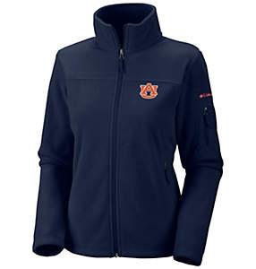 Women's Collegiate Give and Go™ Full Zip Fleece Jacket - Auburn