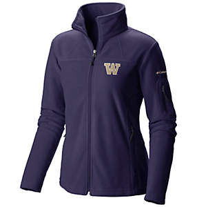 Women's Collegiate Give and Go™ Full Zip Fleece Jacket - Washington