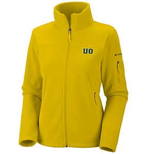 Women's Collegiate Give and Go™ Full Zip Fleece Jacket - Oregon