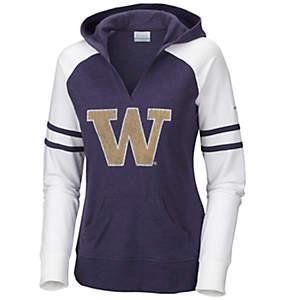 Women's Collegiate Campus Cutie™ Long Sleeve Hoodie - Washington