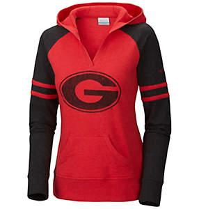 Women's Collegiate Campus Cutie™ Long Sleeve Hoodie - Georgia