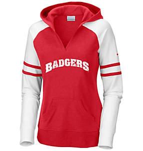 Women's Collegiate Campus Cutie™ Long Sleeve Hoodie - Wisconsin