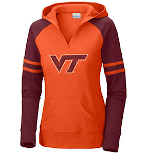 Women's Collegiate Campus Cutie™ Long Sleeve Hoodie - Virginia Tech