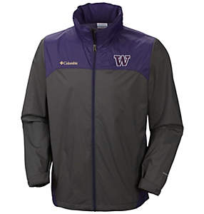 Men's Collegiate Glennaker Lake™ Stow-Hood Rain Jacket - Washington
