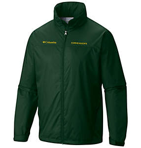 Men's Collegiate Glennaker Lake™ Stow-Hood Rain Jacket - Oregon