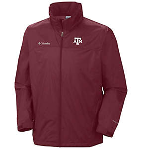 Men's Collegiate Glennaker Lake™ Stow-Hood Rain Jacket - Texas A&M
