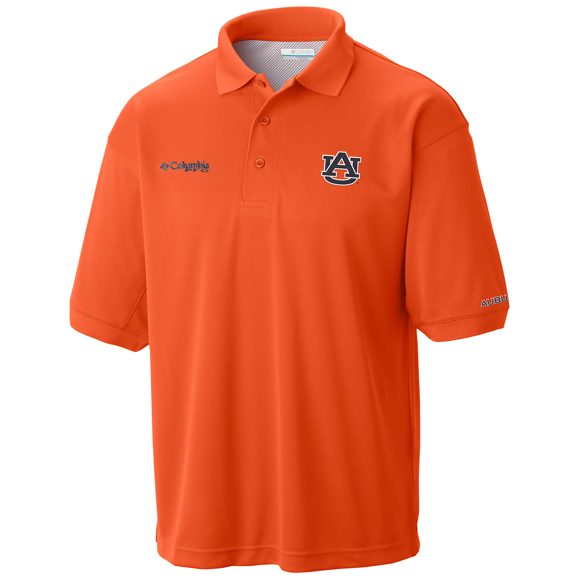 photo: Columbia Collegiate Perfect Cast Polo short sleeve performance top