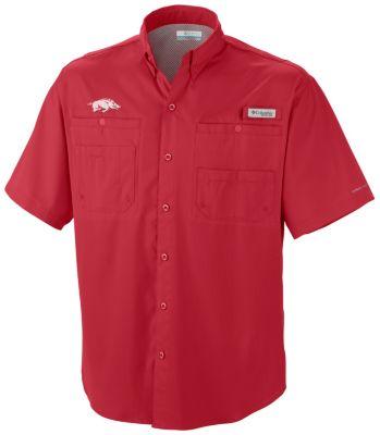 Men's Collegiate Tamiami™ Short Sleeve Shirt - Arkansas