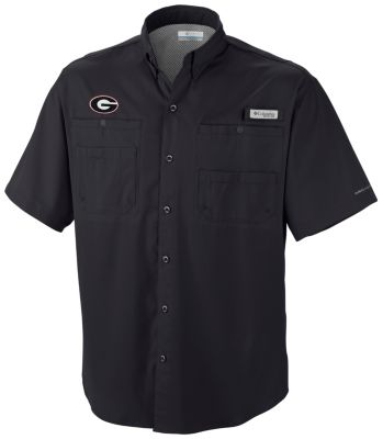 Men's Collegiate Tamiami™ Short Sleeve Shirt - Georgia