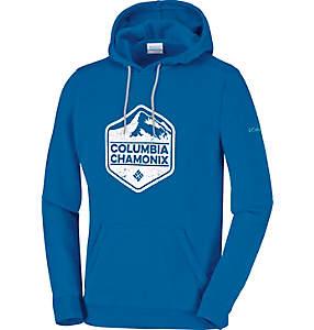Sweat-shirt à capuche avec logo Chamonix Homme