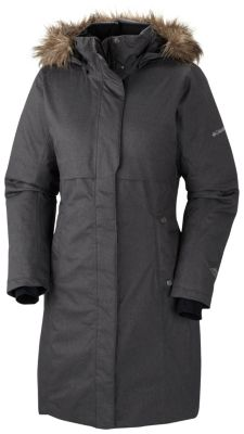 Women's Apres Arson Long Down Jacket - Plus Size