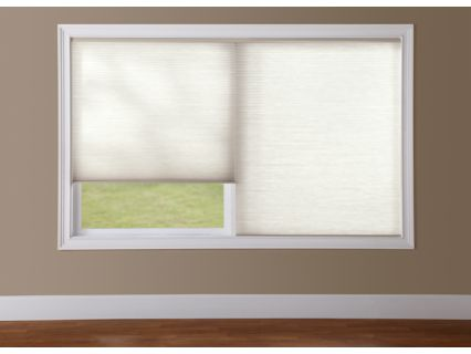 ideal for multiple windows in one frame providing the clean appearance of a single shade with the ability to operate each shade independently