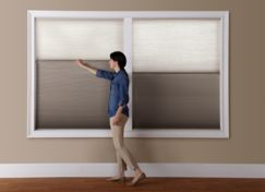 TransformationsTM Provide Versatile Light Control And Maximum Privacy By Combining Two Shades