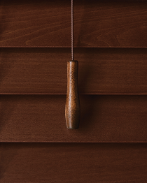 Contemporary Chestnut Tassel & Wand