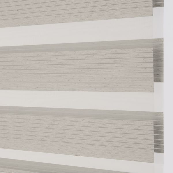 Banded Shades - Uptown Light Filtering - Gray 4A1GY033
