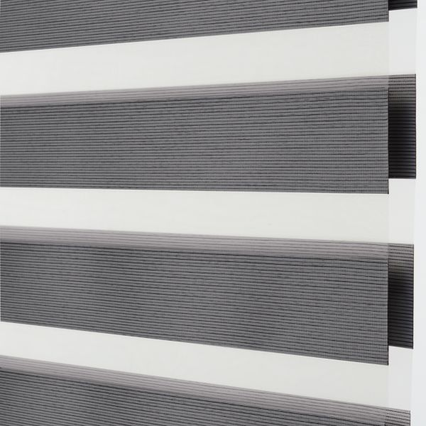 Banded Shades - Brilliance Room Darkening - Graphite 4E2GY044