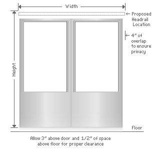 Measure For Inside Mounting