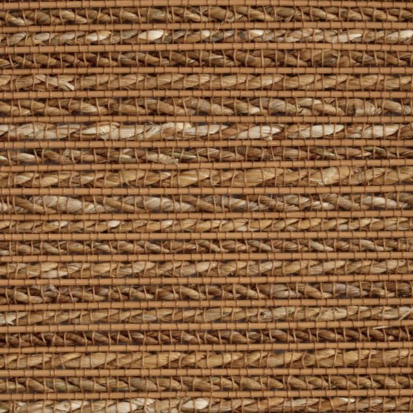 Natural Shades - Sisal Twist Room Darkening Fabric Liner Pecanwood WSR81926