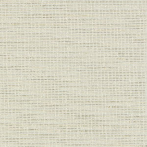 Natural Shades - Bay Weave Room Darkening Fabric Liner White WYRNW004