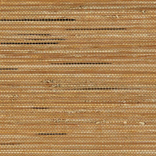 Natural Shades - Bay Weave Room Darkening Fabric Liner Pretzel WYRNW020
