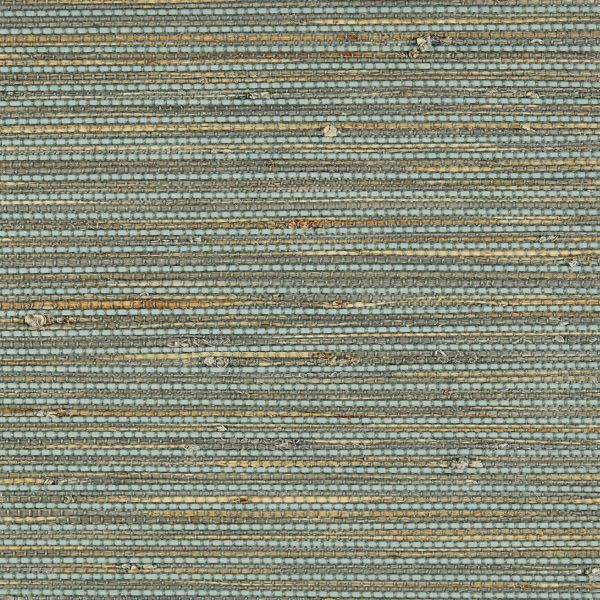 Natural Shades - Bay Weave Room Darkening Fabric Liner Blue Jay WYRNW021