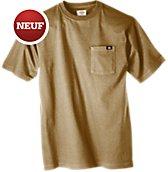 T-shirts � poche � manche courte (paquet de 2)