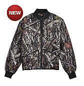 Diamond Quilted Camo Jacket