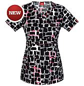 Women's Gen Flex Youtility Mock Wrap Scrub Top