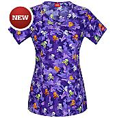Women's EDS Junior Fit Round Neck Scrub Top