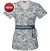 Women's Gen Flex V-Neck Scrub Top