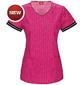Women's V-Neck Scrub Top