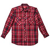Pearl Snap Flannel Shirt