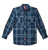 Long Sleeve Button Flannel Shirt