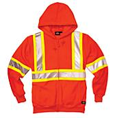 Hi Vis Full Zip Hoody