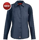 Women's Industrial Long Sleeve Work Shirt