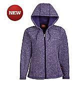 Women's Sweater Hooded Jacket