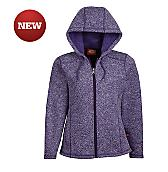 Women's Sweater Hooded Jacket (Plus)