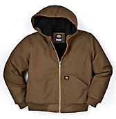 Kids' Sanded Duck Hooded Jacket